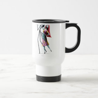 Jack and Sally Dancing Travel Mug