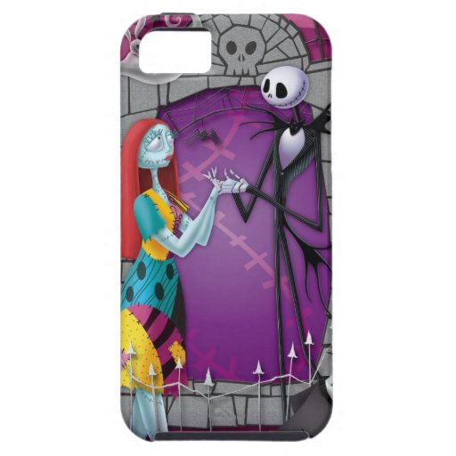 Jack and Sally Holding Hands iPhone 5 Case