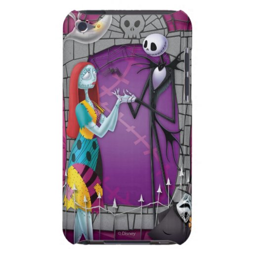 Jack and Sally Holding Hands iPod Touch Covers