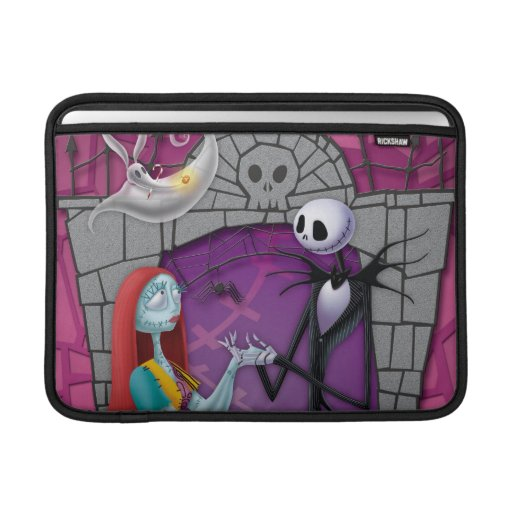 Jack and Sally Holding Hands MacBook Sleeves