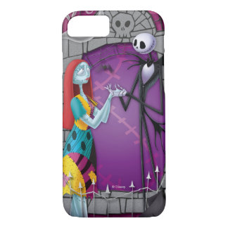 Jack and Sally Holding Hands iPhone 7 Case