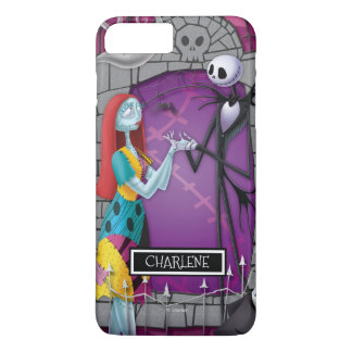 Jack and Sally Holding Hands iPhone 7 Plus Case