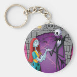 Jack and Sally Holding Hands Key Chains