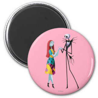 Jack and Sally Holding Hands Magnet