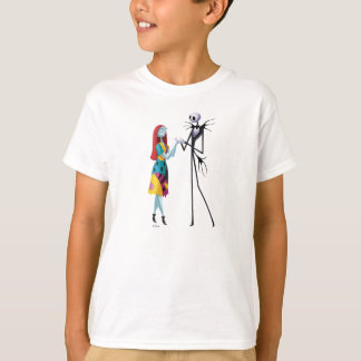 Jack and Sally Holding Hands T-Shirt