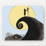 Jack and Sally Holding Hands Under Moon Mouse Pads