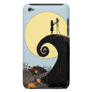 Jack and Sally Holding Hands Under the Moon iPod Touch Case