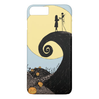Jack and Sally Holding Hands Under the Moon iPhone 7 Plus Case