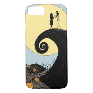 Jack and Sally Holding Hands Under the Moon iPhone 8/7 Case