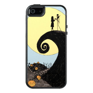 Jack and Sally Holding Hands Under the Moon OtterBox iPhone 5/5s/SE Case