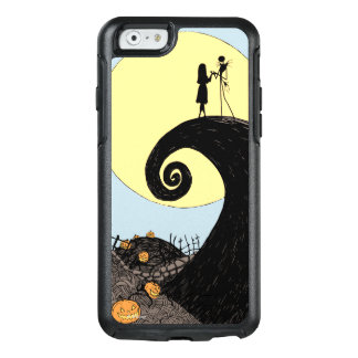 Jack and Sally Holding Hands Under the Moon OtterBox iPhone 6/6s Case