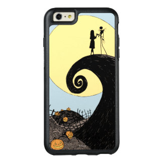 Jack and Sally Holding Hands Under the Moon OtterBox iPhone 6/6s Plus Case