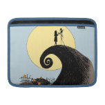 Jack and Sally Holding Hands Under the Moon Sleeves For MacBook Air