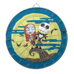 Jack and Sally Moon Dart Boards