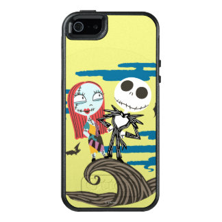 Jack and Sally Moon OtterBox iPhone 5/5s/SE Case