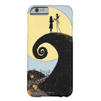 Jack and Sally | Moon Silhouette Barely There iPhone 6 Case