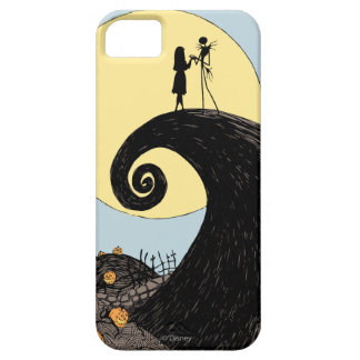 Jack and Sally | Moon Silhouette iPhone SE/5/5s Case