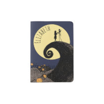 Jack and Sally | Moon Silhouette - Name Passport Holder