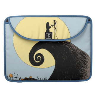 Jack and Sally | Moon Silhouette Sleeve For MacBook Pro