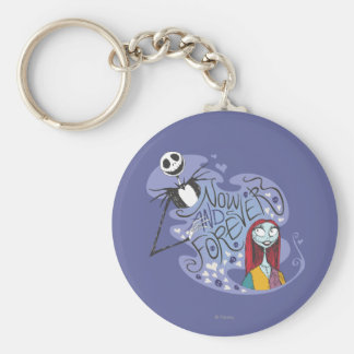 Jack and Sally - Now and Forever Keychain