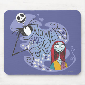 Jack and Sally - Now and Forever Mouse Pad