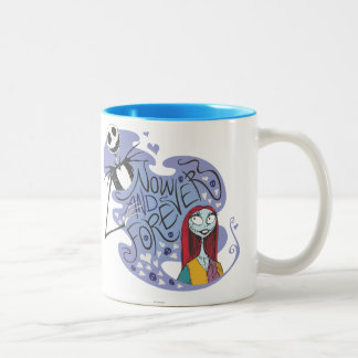 Jack and Sally - Now and Forever Coffee Mugs