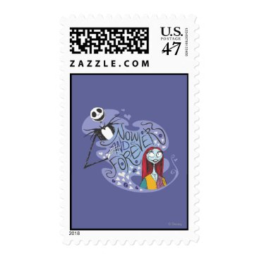 Christmas Themed Jack and Sally - Now and Forever Postage