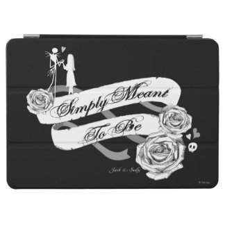 Jack and Sally - Simply Meant To Be iPad Air Cover