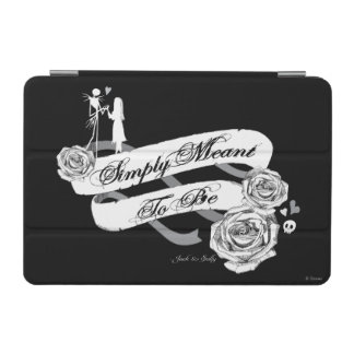 Jack and Sally - Simply Meant To Be iPad Mini Cover