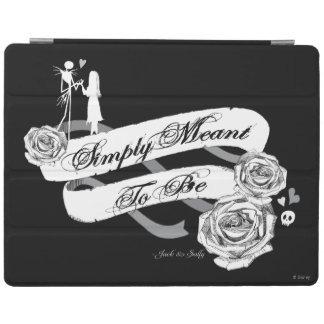 Jack and Sally - Simply Meant To Be iPad Smart Cover