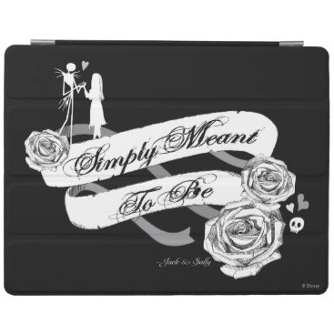 Disney Themed Jack and Sally - Simply Meant To Be iPad Smart Cover