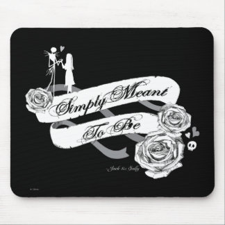 Jack and Sally - Simply Meant To Be Mouse Pad