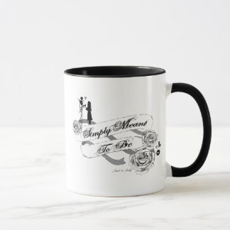 Jack and Sally - Simply Meant To Be Mug