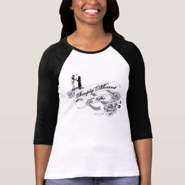 Disney Themed Jack and Sally - Simply Meant To Be T-Shirt