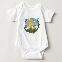 Jack and the Beanstalk Baby Bodysuit