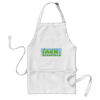 Jack and the Beanstalk logo Adult Apron
