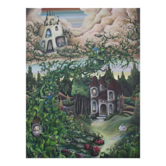 Jack and the Beanstalk print Photo Print