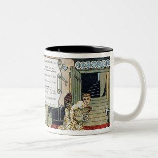 Jack and the Beanstalk Two-Tone Coffee Mug