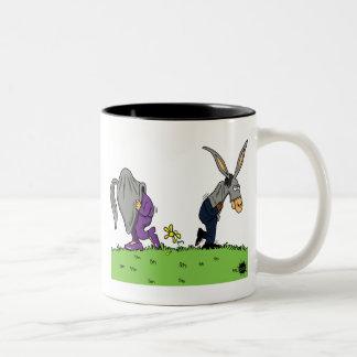 Jack-Asses Two-Tone Coffee Mug