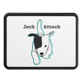 """Jack Attack"" Jack Russell Terrier Hitch Cover"