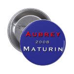 Jack Aubrey for President! Pinback Buttons