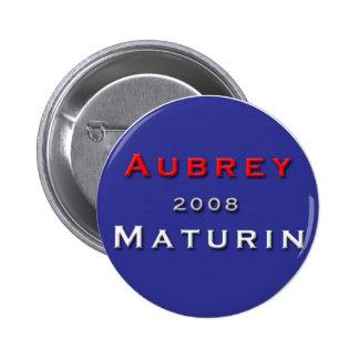 ¡Jack Aubrey para el presidente! Pin Redondo 5 Cm