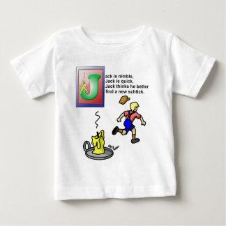 Jack Be Nimble Baby T-Shirt