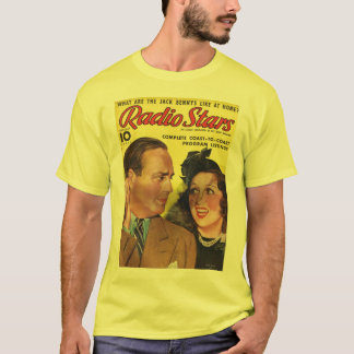Jack Benny T-Shirt Radio Mirror 1938