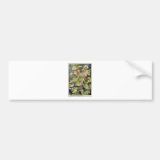 Jack-By-The-Hedge Fairy Car Bumper Sticker
