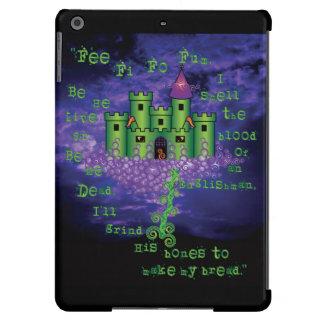 Jack céltico y el Beanstalk en verde Funda Para iPad Air