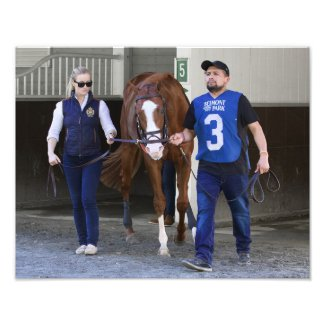 Jack Christopher your Champagne Stakes Winner Photo Print