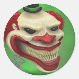 Jack Classic Round Sticker
