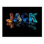 Jack conocido en 3D se enciende (la fotografía) Tarjetas Postales