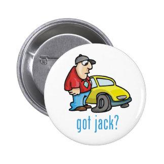 ¿Jack conseguido? Botón Pin Redondo De 2 Pulgadas